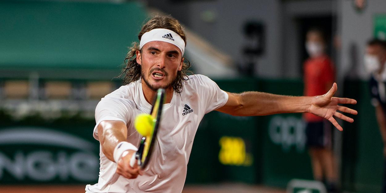 Stefanos Tsitsipas French Open 2021