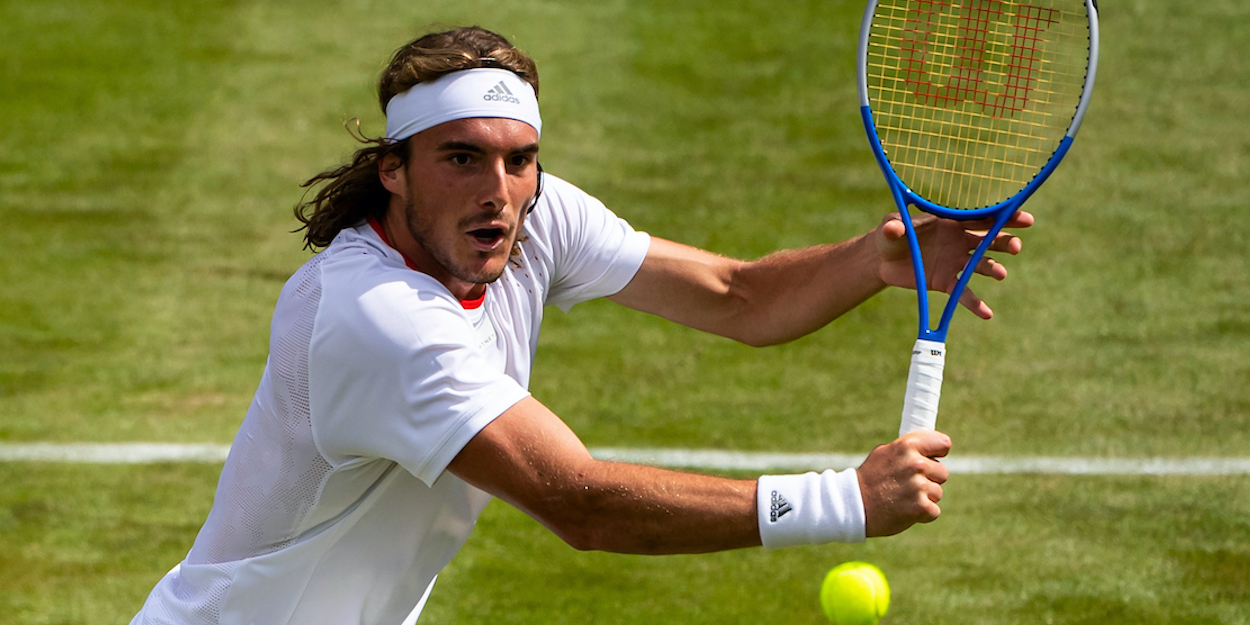 Stefanos Tsitsipas Wimbledon 2019