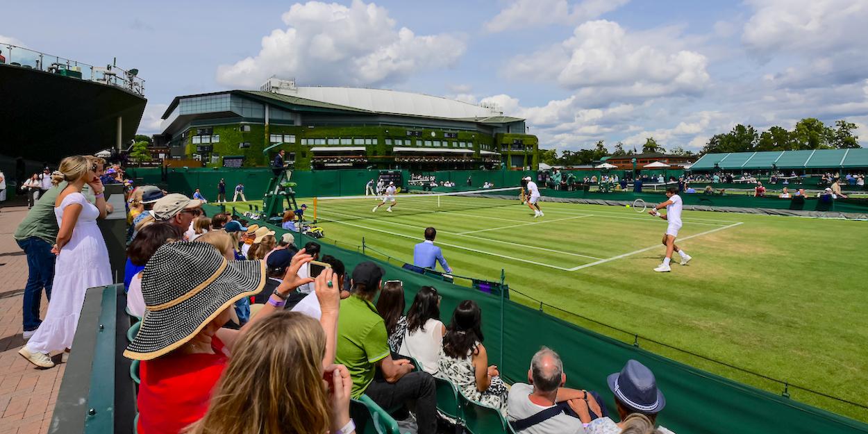 Wimbledon ambience 2021