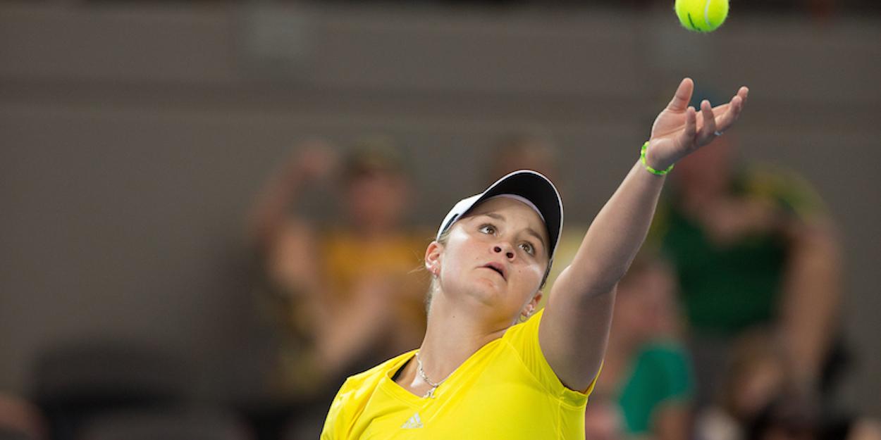 Ash Barty Fed Cup Australia
