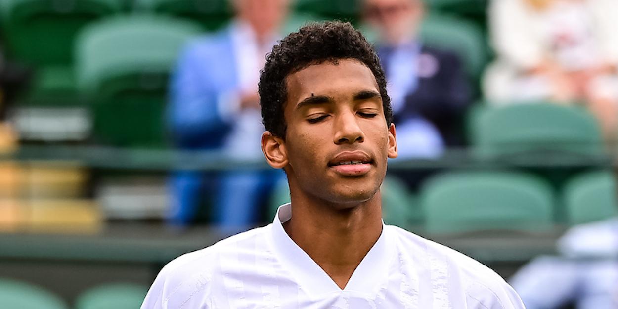 Auger-Aliassime Wimbledon 2021