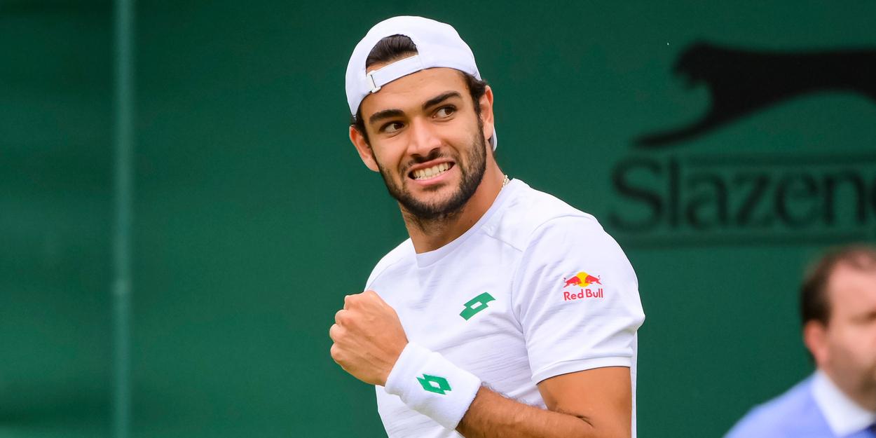 MATTEO BERRETTINI Wimbledon 2021