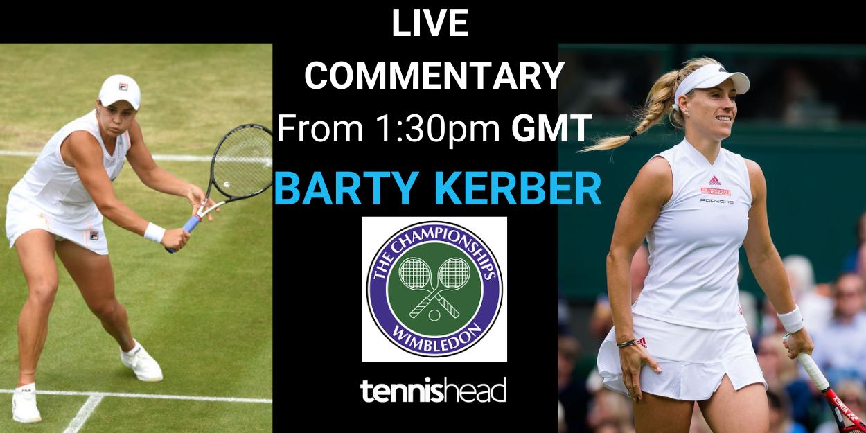 Barty vs Kerber