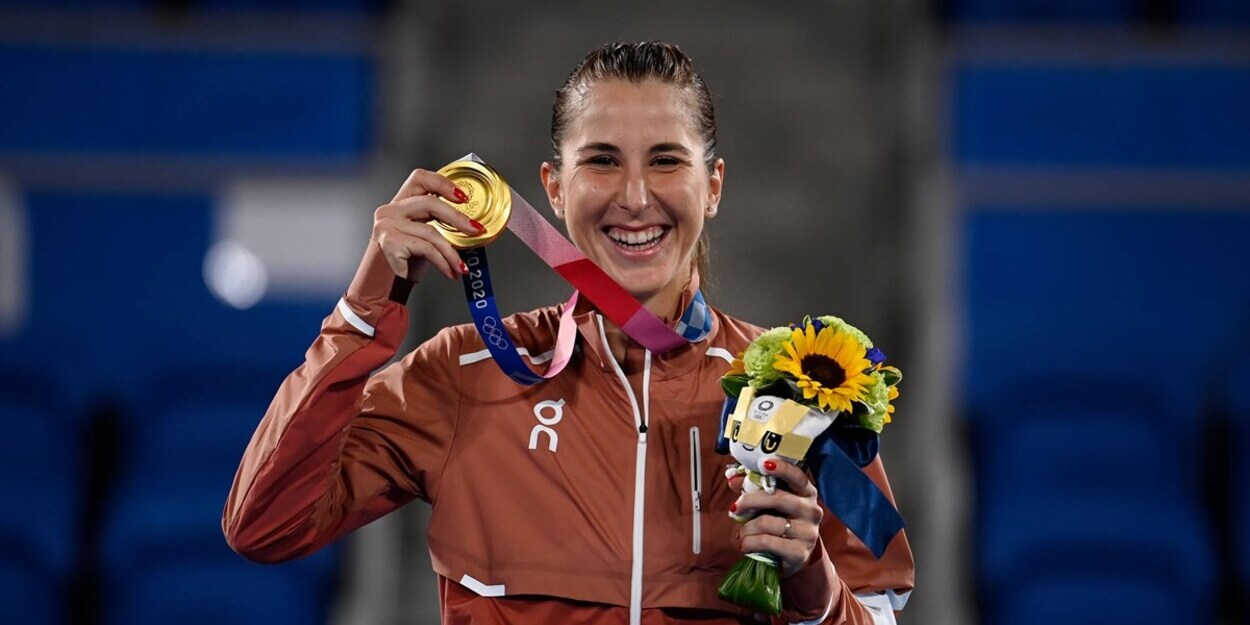 Bencic Olympic gold