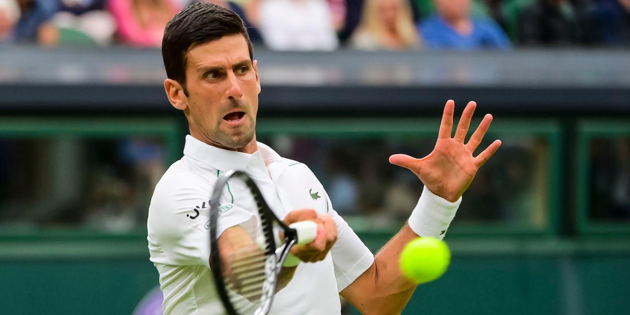 Djokovic Garin Wimbledon