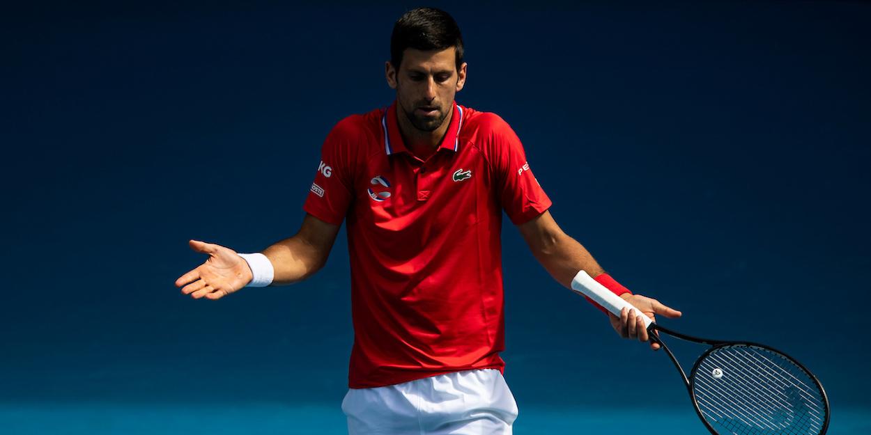 Djokovic ATP Cup 2021