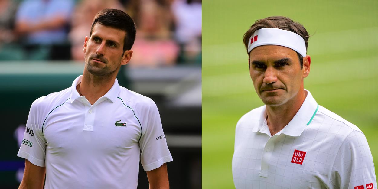 Djokovic Federer Wimbledon 2021