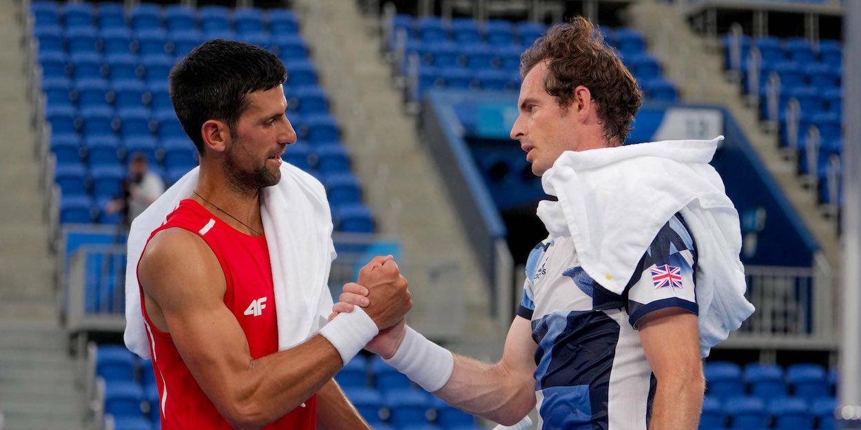 Djokovic Murray Tokyo Olympics