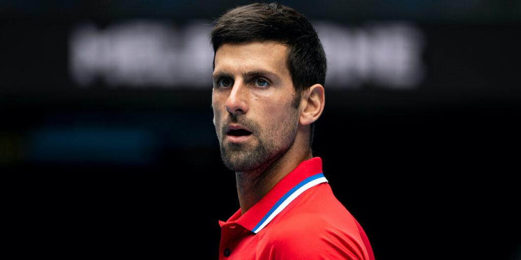 Novak Djokovic ATP Cup 2021