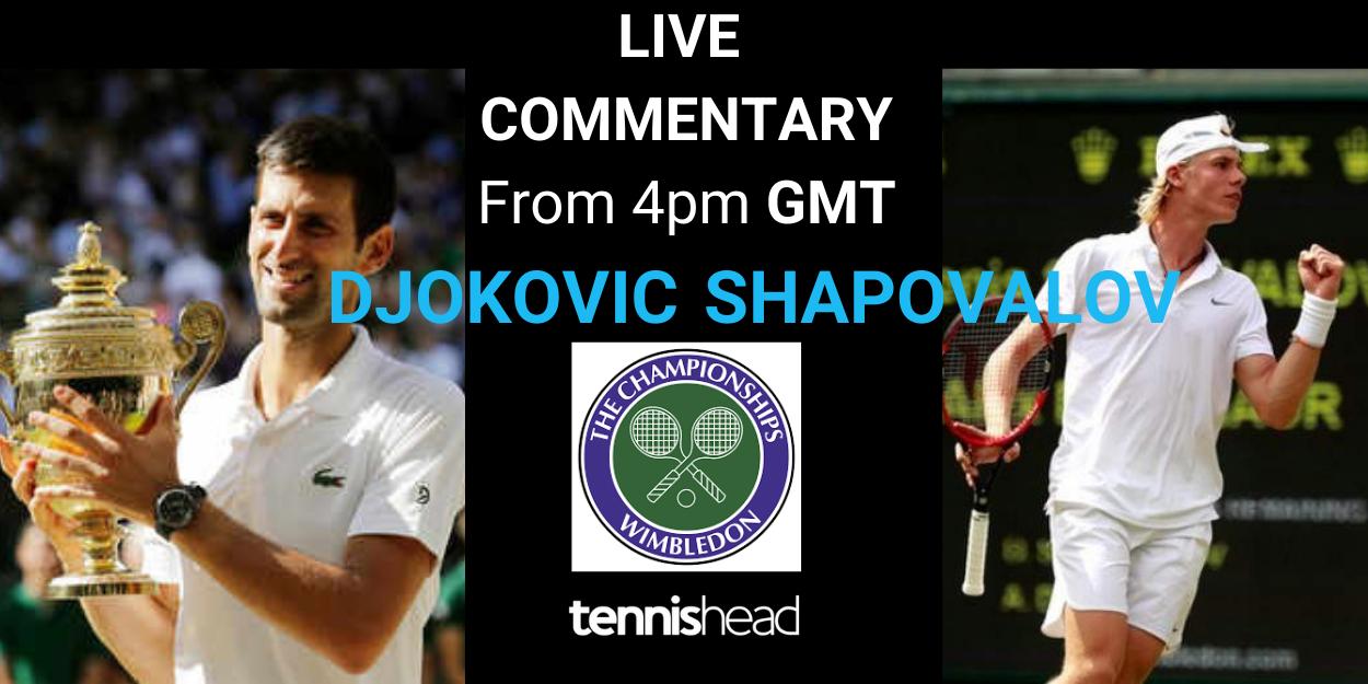 Djokovic vs Shapovalov