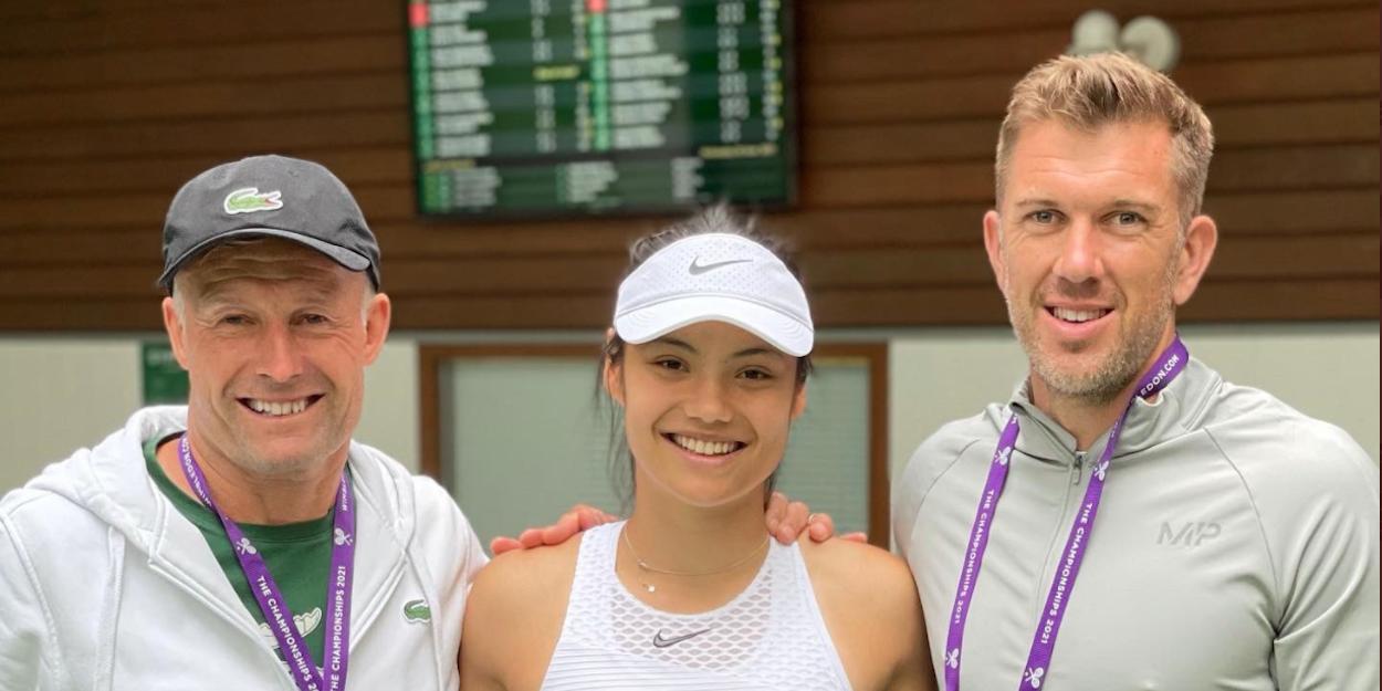 Emma Raducanu Wimbledon 2021