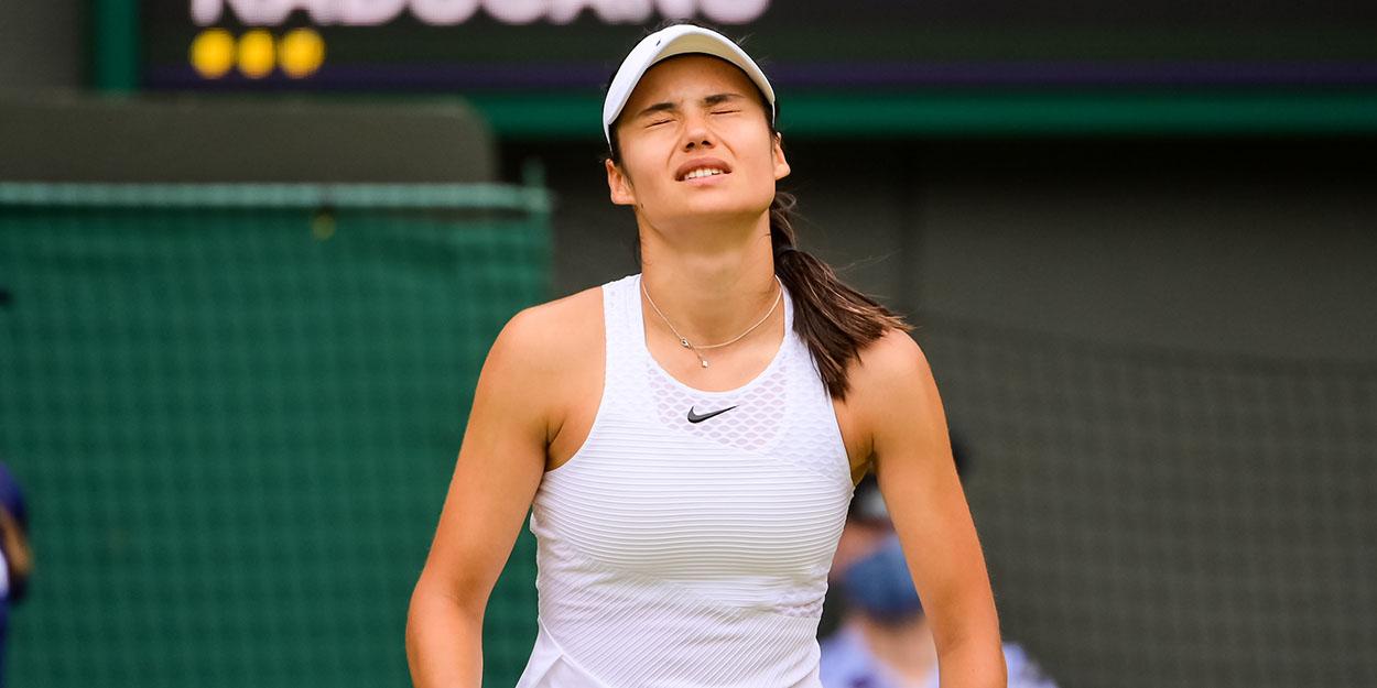 Emma Raducanu unhappy at Wimbledon breathing difficulties