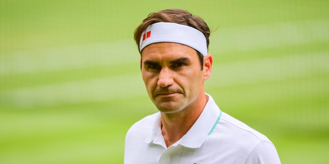 Roger Federer Wimbledon 2021 Djokovic