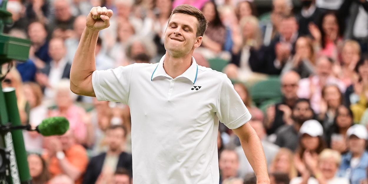 Hurkacz Wimbledon 2021 Federer