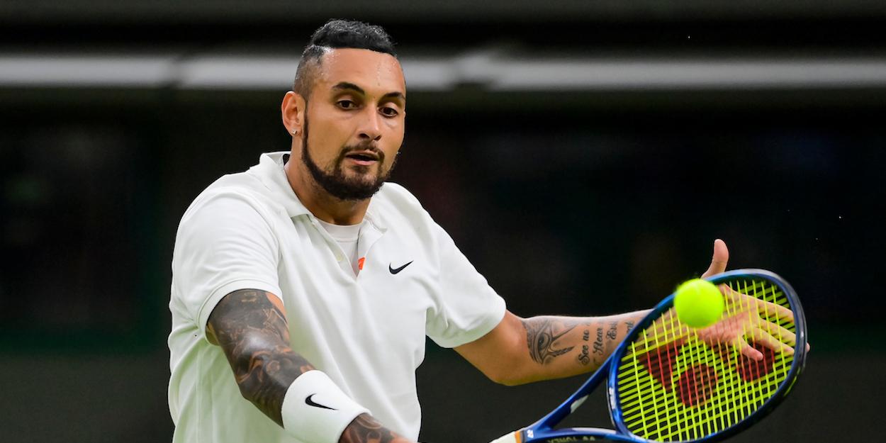 Kyrgios Wimbledon 2021