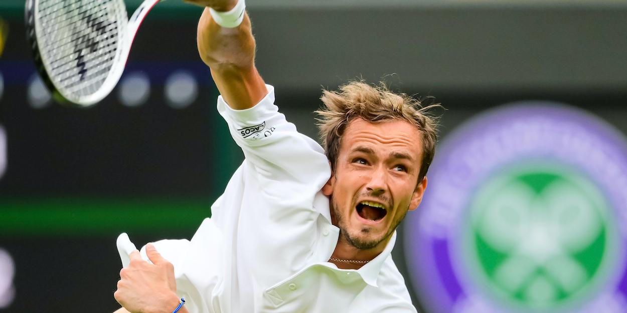 Daniil Medvedev Wimbledon 2021