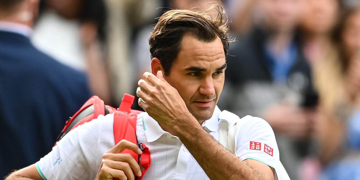 Roger Federer Wimbledon 2021