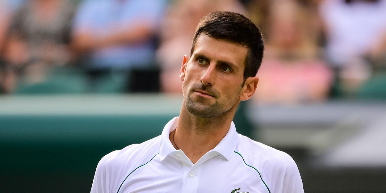 Novak Djokovic unhappy at Wimbledon