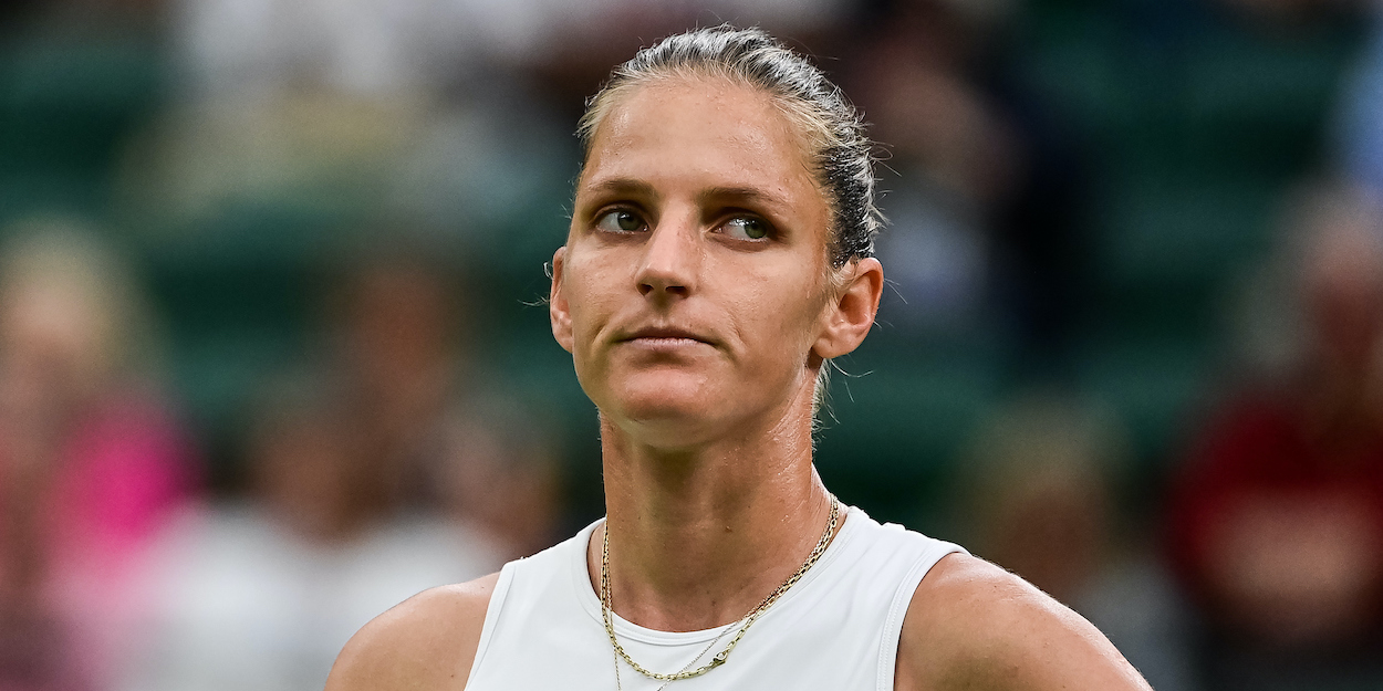 Karolina Pliskova Wimbledon 2021