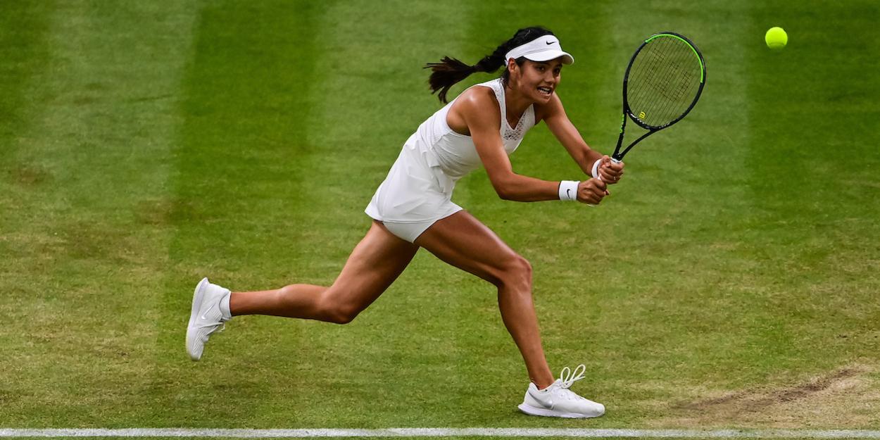 Raducanu Wimbledon