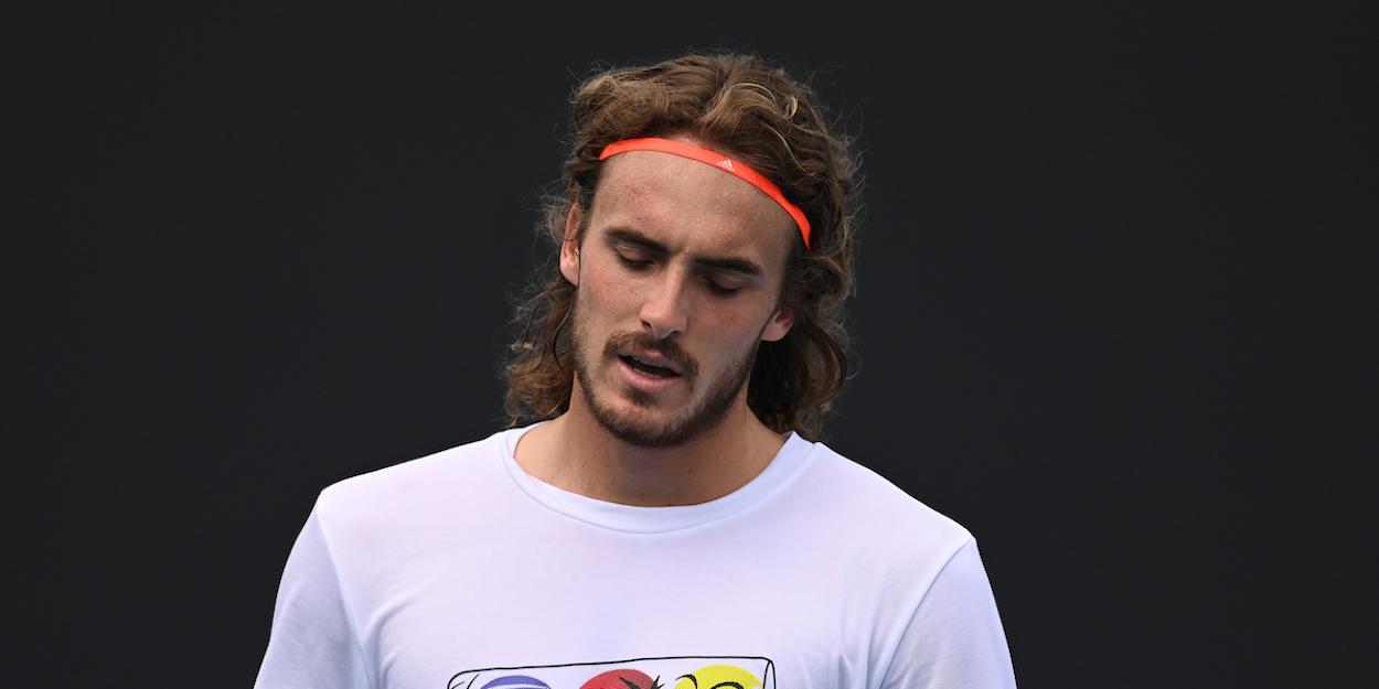 Tsitsipas Australian Open 2021