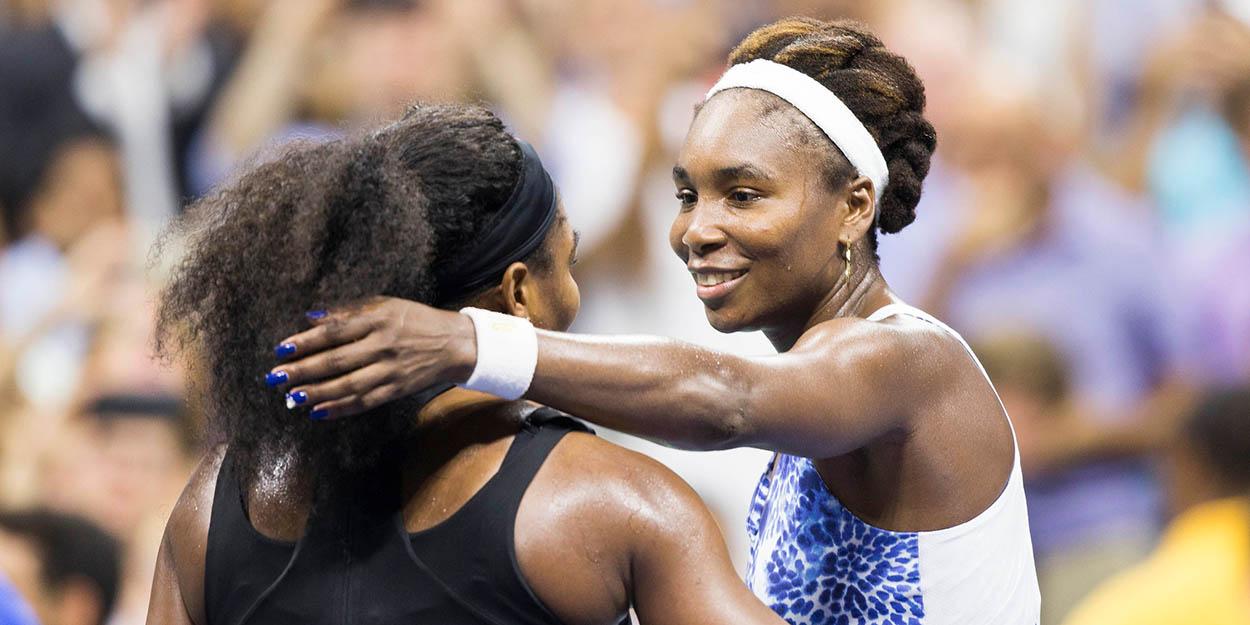 Venus and Serena Williams at US Open