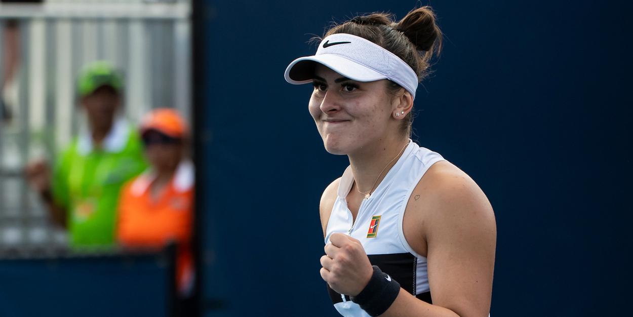 Bianca Andreescu Miami Open