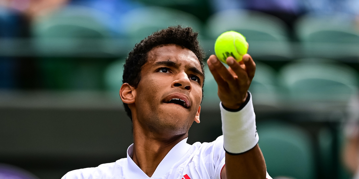 Felix Auger-Aliassime Wimbledon 2021