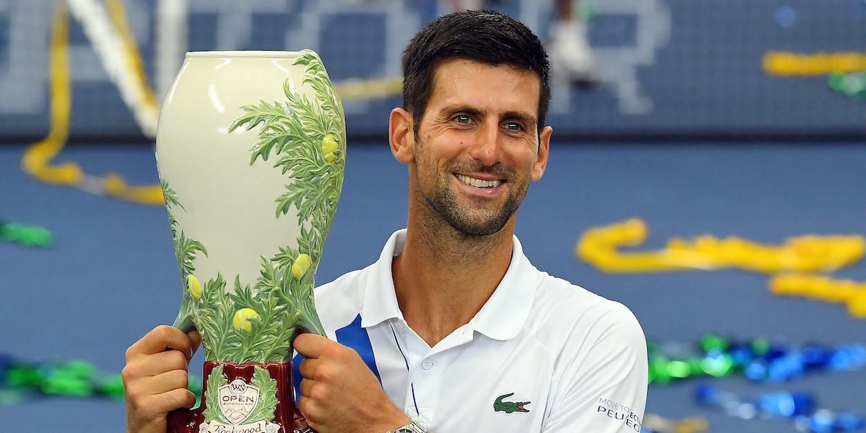 Novak Djokovic Cincinnati Masters 2020
