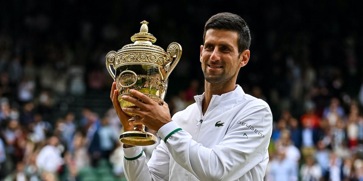 Novak Djokovic Wimbledon 2021