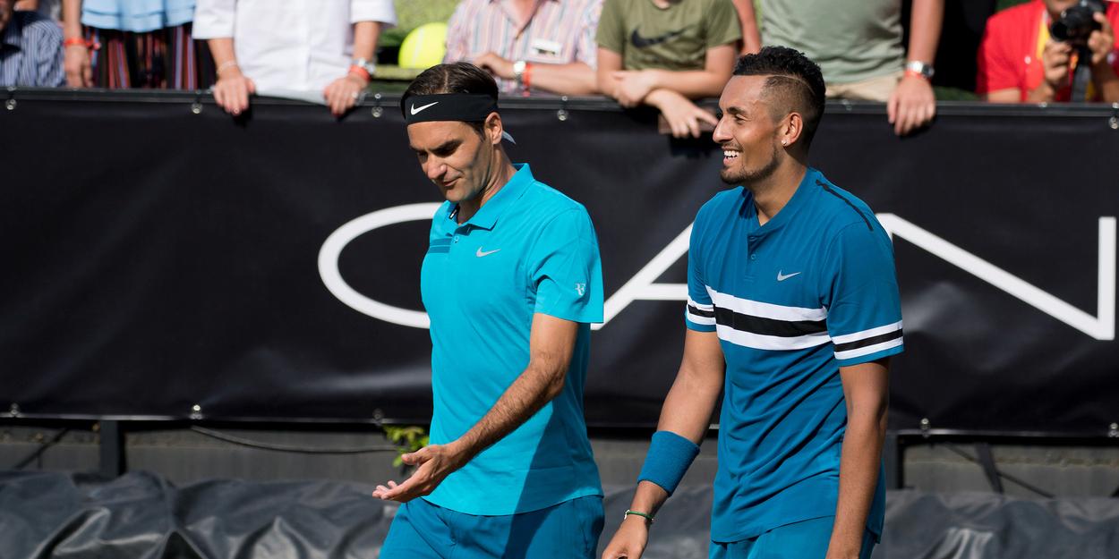 Roger Federer Nick Kyrgios