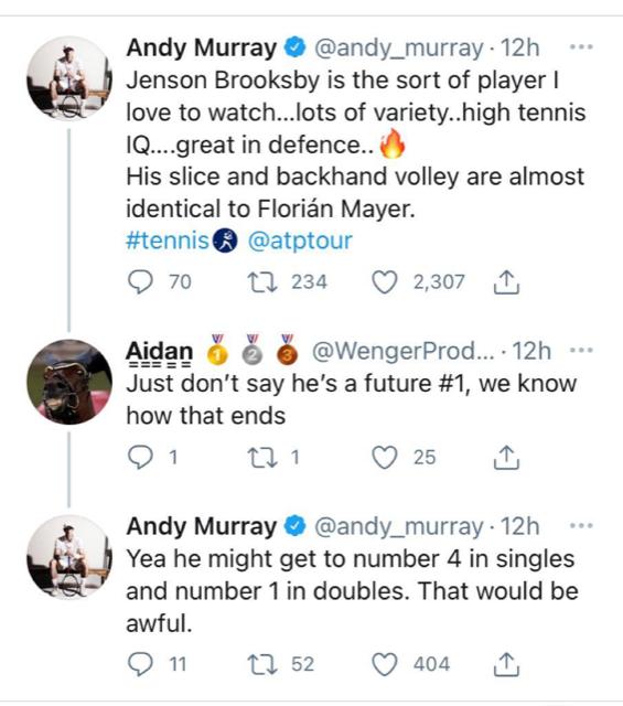 Murray Twitter