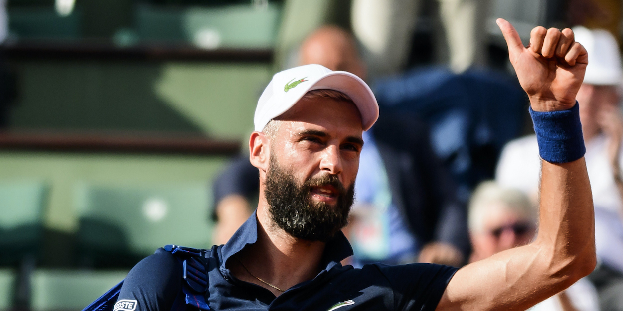 Benoit Paire French Open 2018