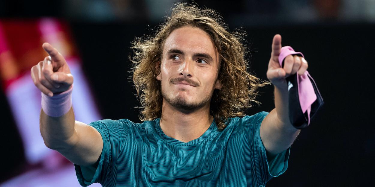 Stefanos Tsitsipas Australian Open 2019