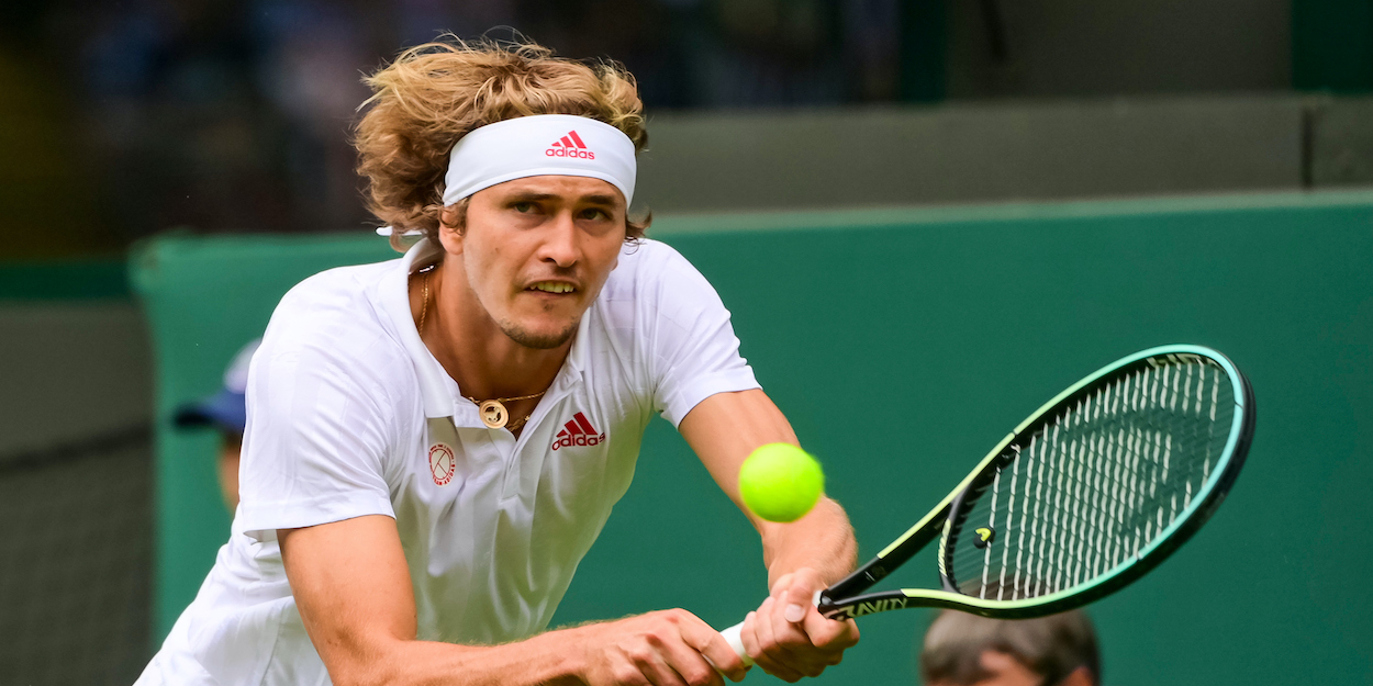Alexander Zverev Wimbledon 2021