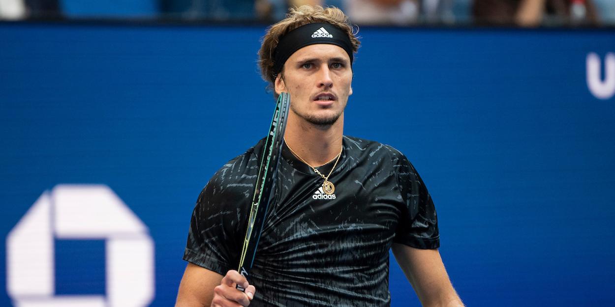 Alexander Zverev US Open 2021