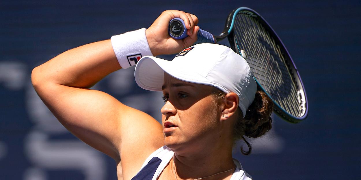 Ashleigh Barty US Open 2021
