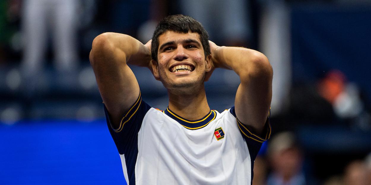 Carlos Alcaraz US Open 2021