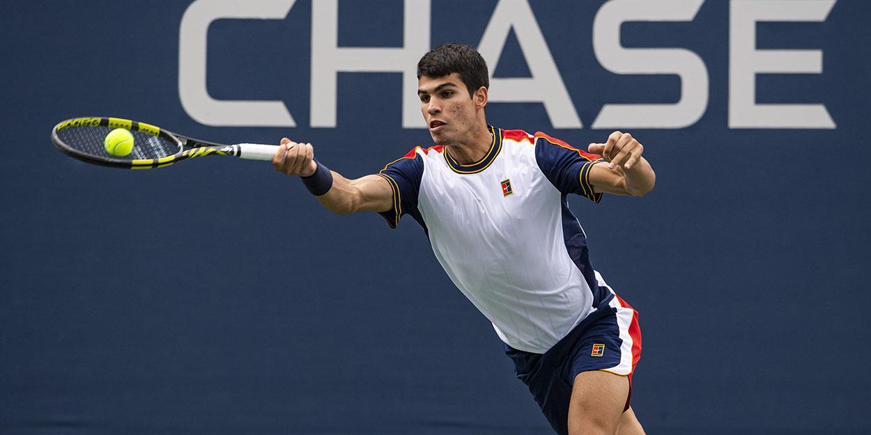 Carlos Alcaraz at US Open