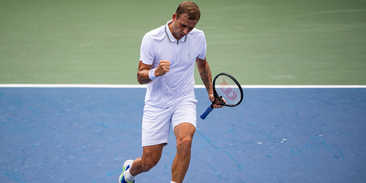 Dan Evans US Open 2021