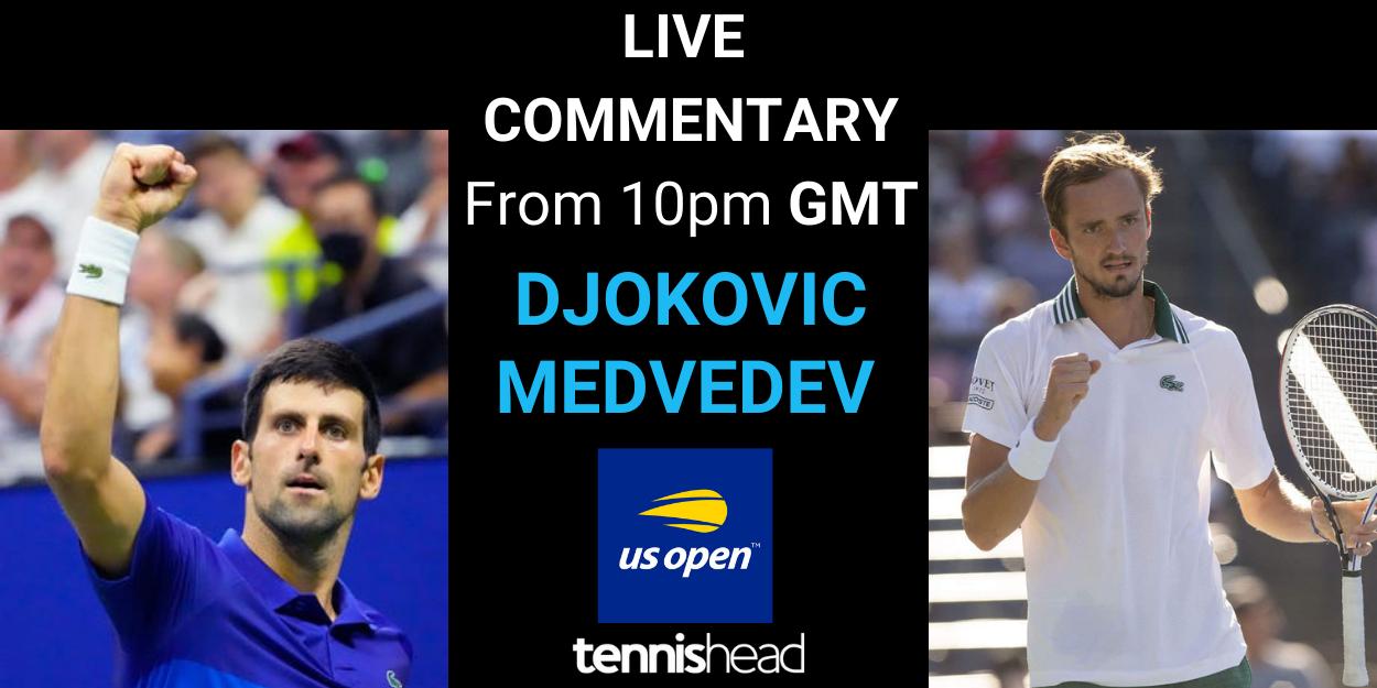 Djokovic vs Medvedev