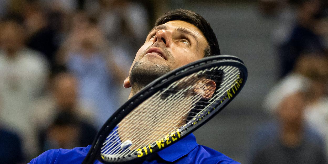 Novak Djokovic US Open 2021