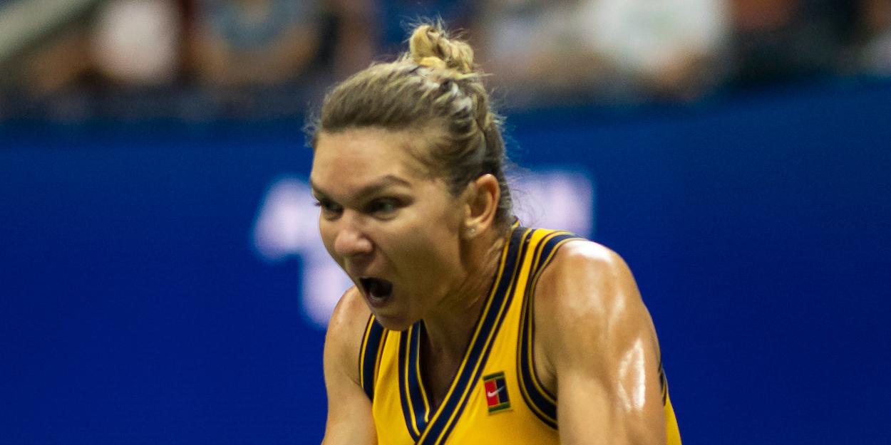 Simona Halep US Open 2021