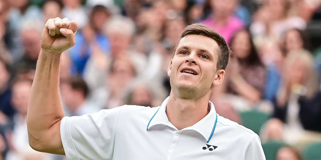 Hubert Hurkacz Wimbledon 2021