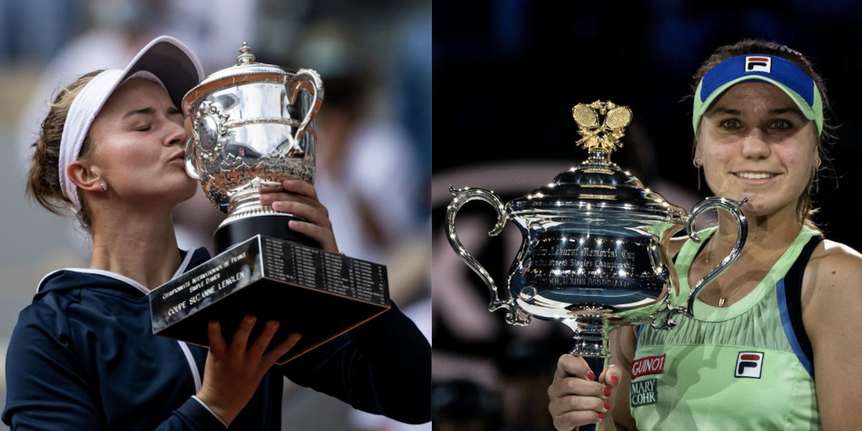Krejcikova Kenin WTA combo