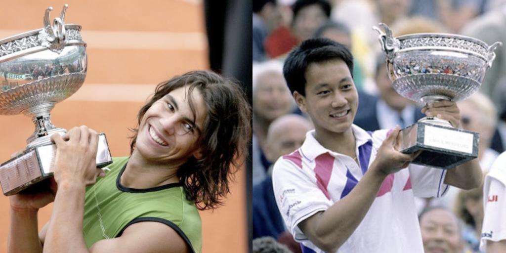 Rafael Nadal Michael Chang ATP combo