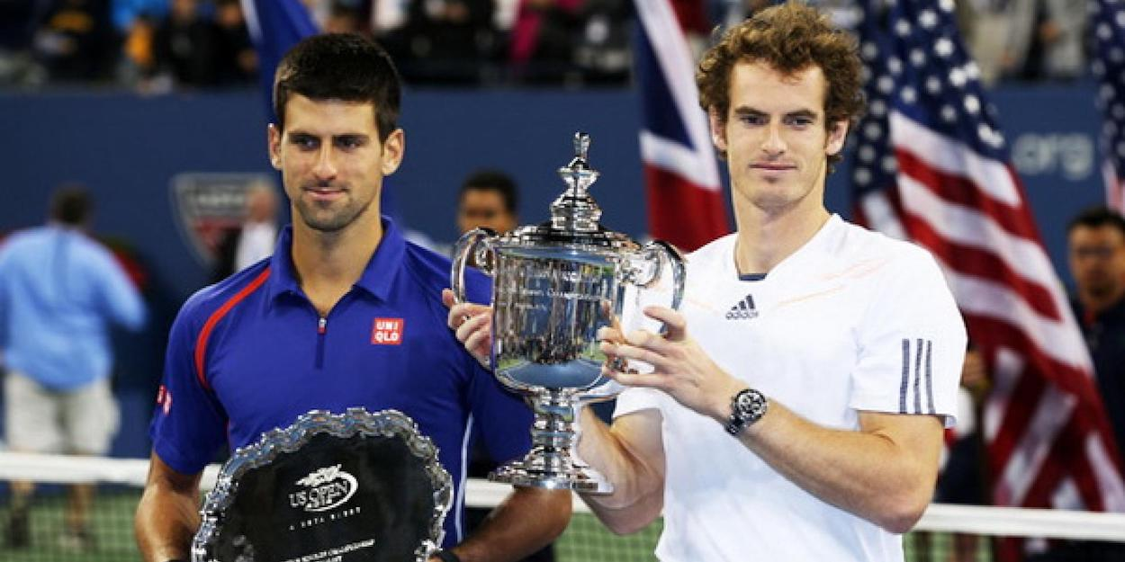 Andy Murray Novak Djokovic US Open final 2012