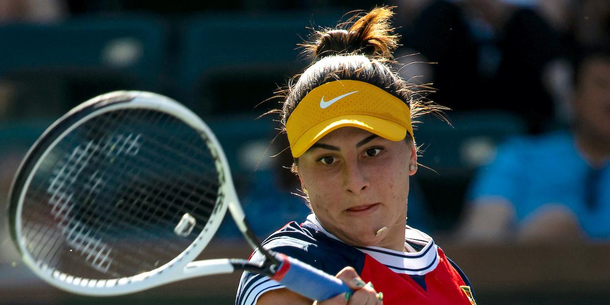 Bianca Andreescu Indian Wells 2021