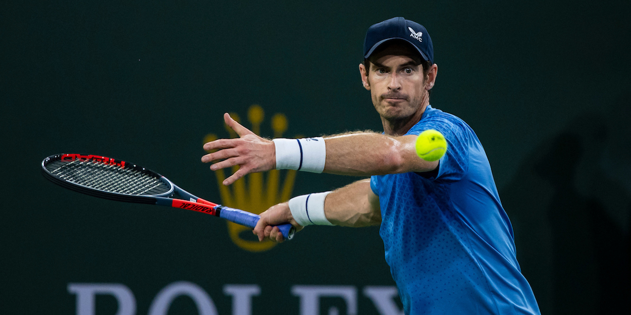 Andy Murray Indian Wells 2021