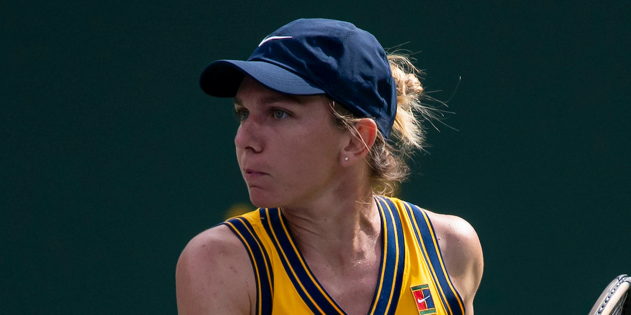 Simona Halep Indian Wells 2021